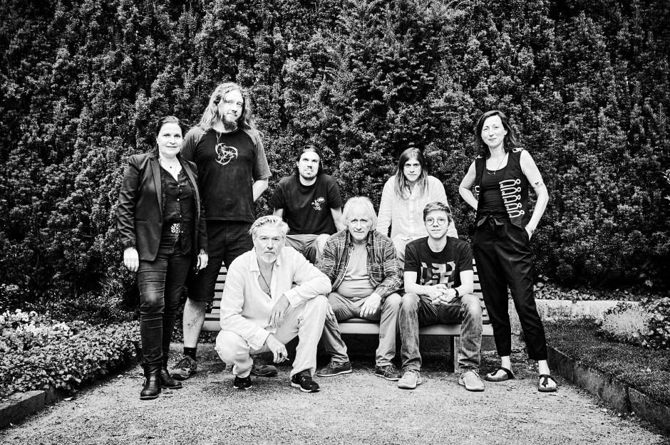 Die Crew der «Letzte Worte»-Tour. Foto: Corinne Koch.