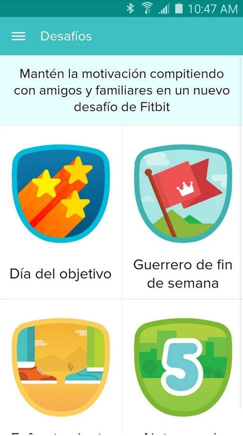 Fitbit Logros