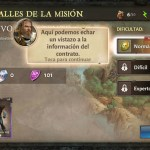 Dungeon Hunter V tutorial modo campaña escoge dificultad