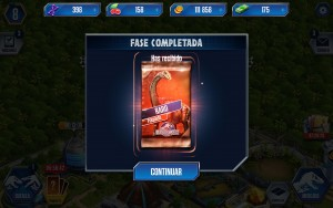 Jurassic World desbloquear fase