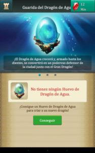 Dragons Of Atlantis Huevo de Agua