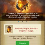 Dragons Of Atlantis conseguir Huevo de Fuego