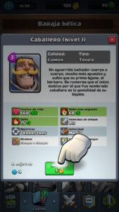 Clash Royale mejorar carta