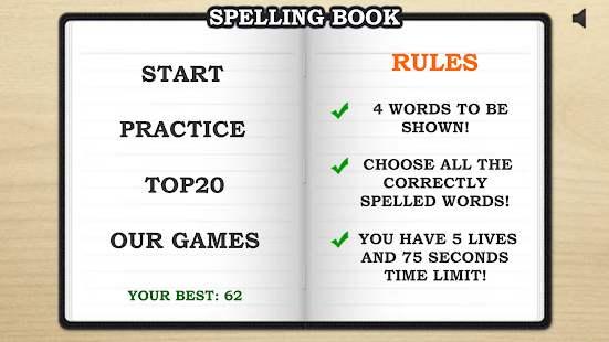 Descarga Spelling Book PRO gratis