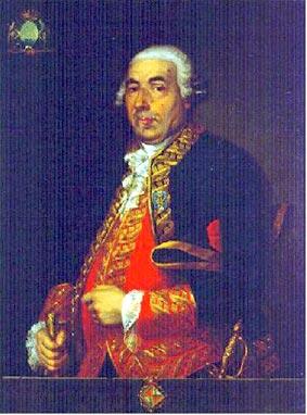 Retrato del teniente general don Antonio Barceló