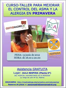 Curso-taller sobre asma y alergia en primavera