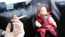 Tabaco en el coche