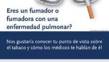 Encuesta para fumadores con enfermedades pulmo