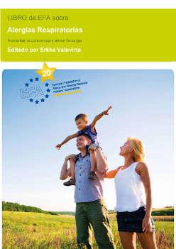 Libro EFA sobre alergias respiratorias