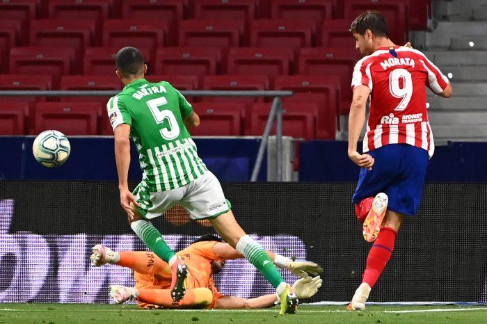 Morata es una posible salida del Atlético