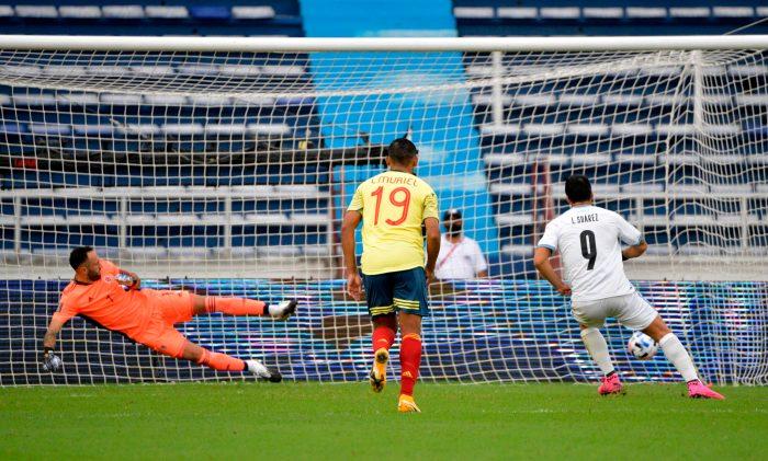 Luis Suárez: Así fue su último gol con Uruguay