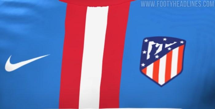Tercera equipación del Atlético de Madrid 21-22