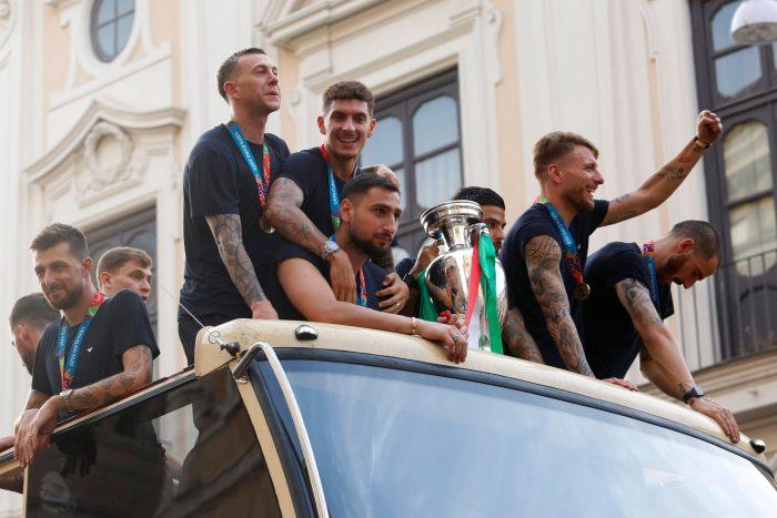 Simeone busca jugador en el campeón de la Eurocopa según Il Corriere