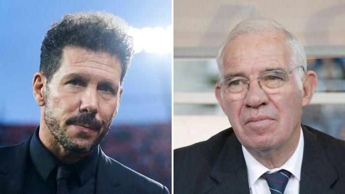 La conversación privada entre Luis Aragonés y Simeone que te emocionará