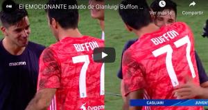 VIDEO: Emocionante saludo de Buffon a Simeone JR tras su golazo