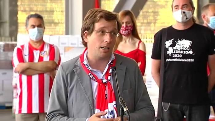 VIDEO: Las polémicas palabras de Almeida a los aficionados del Atlético 1