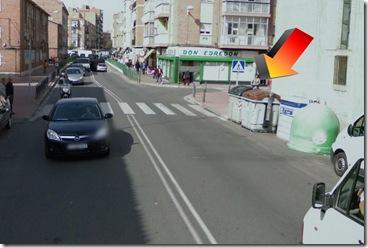 paso de peatones sin visibilidad