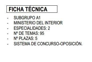Oposiciones a la Escala Superior de Técnicos de Tráfico. 2013