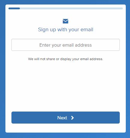 petición del email