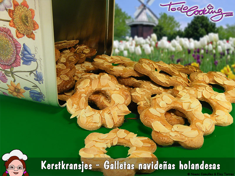 kerstkransjes - galletas holandesas de Navidad