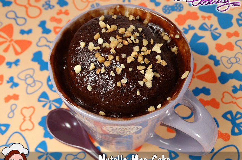 Mug cake de nutella