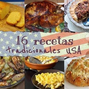 16 Recetas Tradicionales Estados Unidos