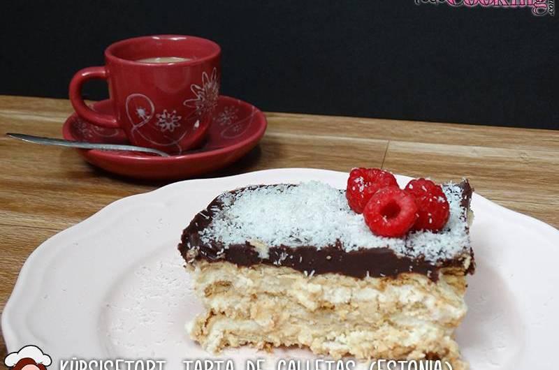 küpsisetort tarta de galletas-estonia