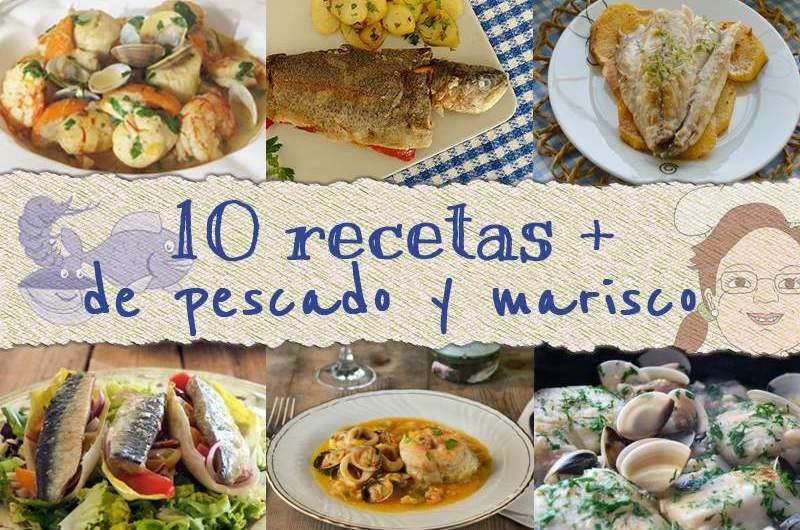 10 recetas pescado y marisco