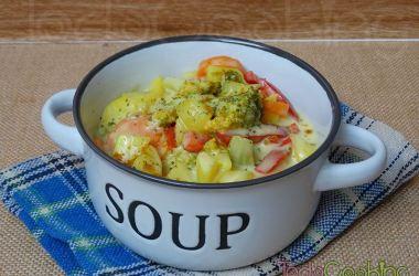 Curry de patatas y vegetales