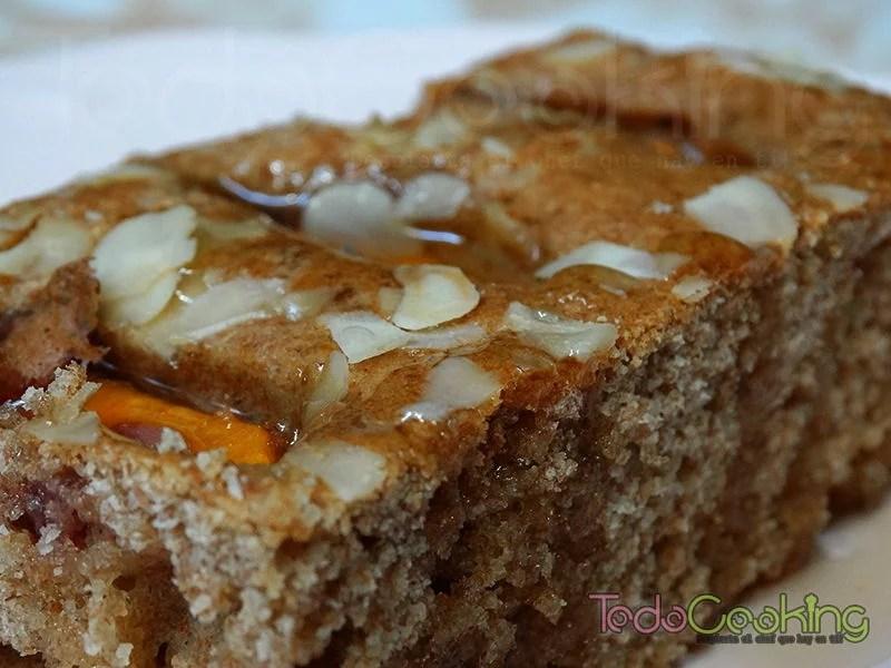 Cake integral con nectarinas