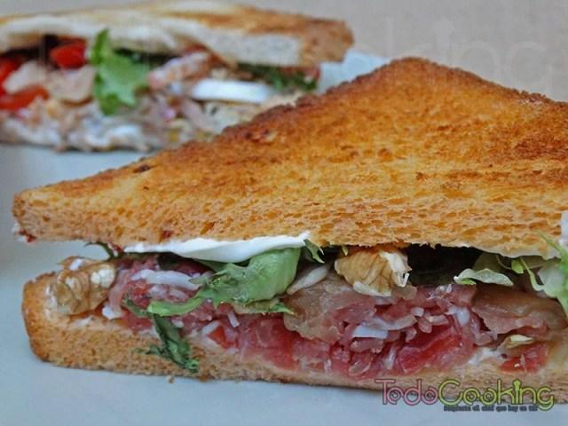 sandwiches de jamón serrano