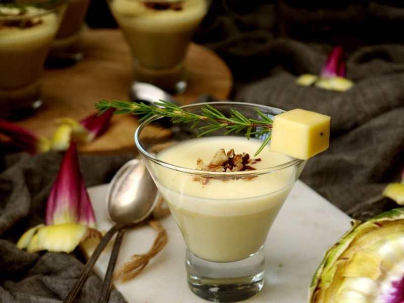 recetas fáciles de entrantes y primeros - crema de alcachofas
