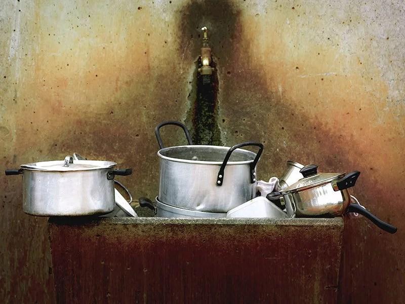 cocinar sin ensuciar
