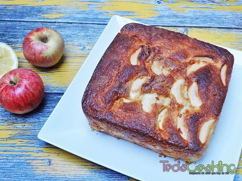 Bizcocho de manzana 04