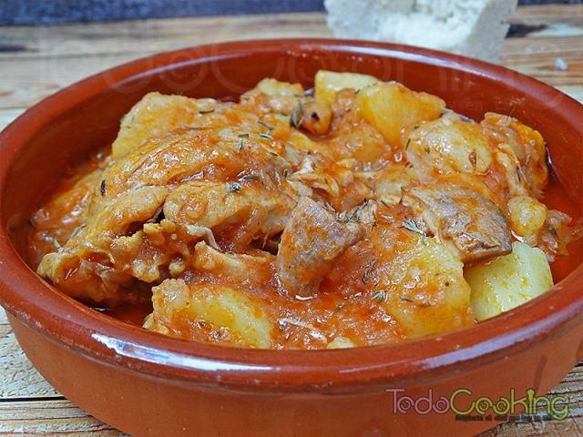 Guiso de pollo con patatas 01