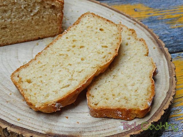 Pan sin amasado con harina común 04