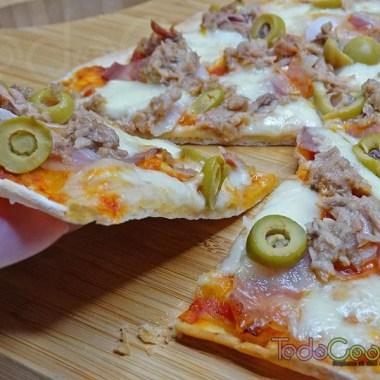 Masa de pizza sin reposo 01
