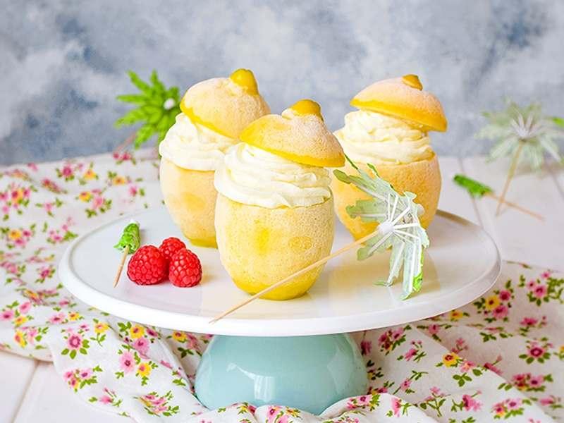 Recetas de helados y polos caseros. helado de limón y mascarpone