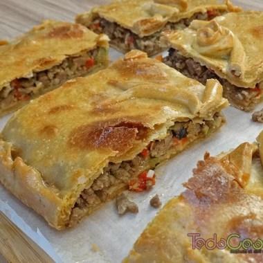 Empanada gallega de carne y setas 02