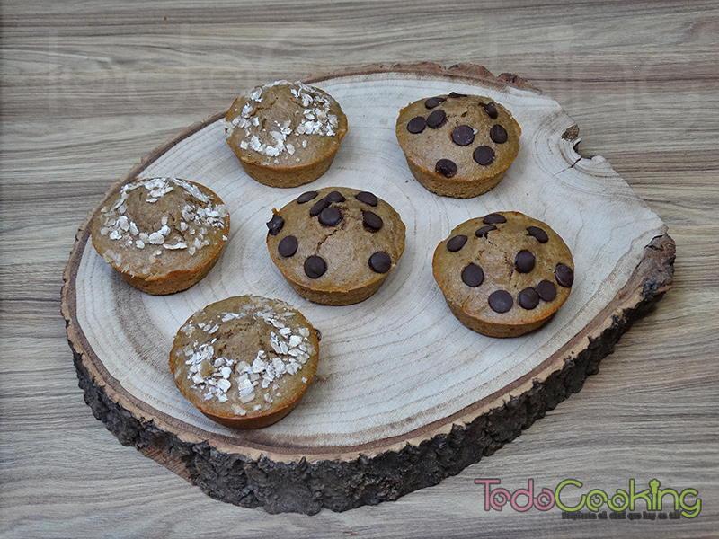 Muffins de avena y plátano 01