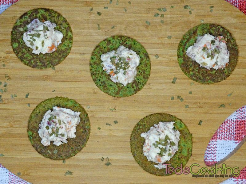 Tortitas de espinacas con Requeixo de As Neves 02