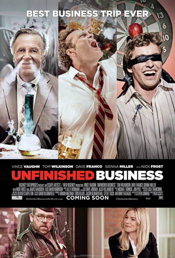 Unfinished Business DVD