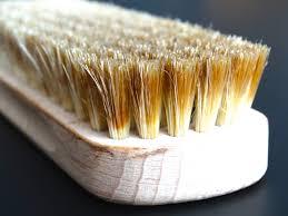 Cepillo de cerdas naturales para el cuerpo