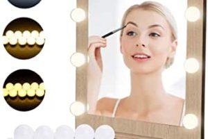 luces led para espejo de maquillaje