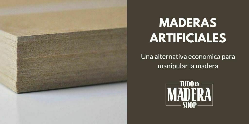 maderas artificiales