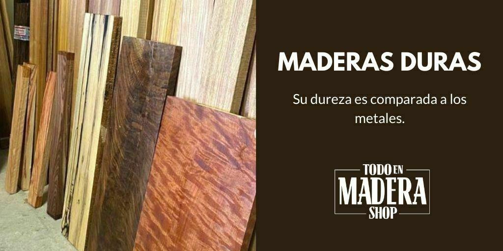 maderas duras tablas