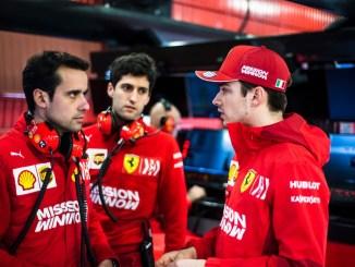 Charles Leclerc - Barcelona pretemporada 2019 - Ferrari