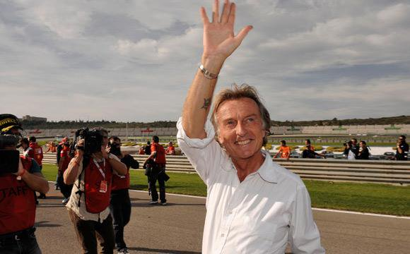 Luca di Montezemolo, ex presidente de Ferrari