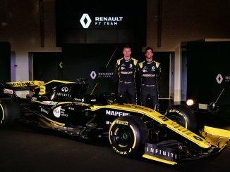 Nico Hülkenberg y Daniel Ricciardo, con el Renault 2019
