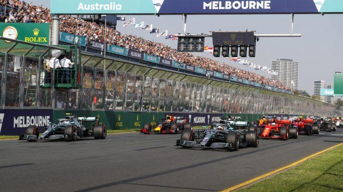 Bottas Hamilton Australia